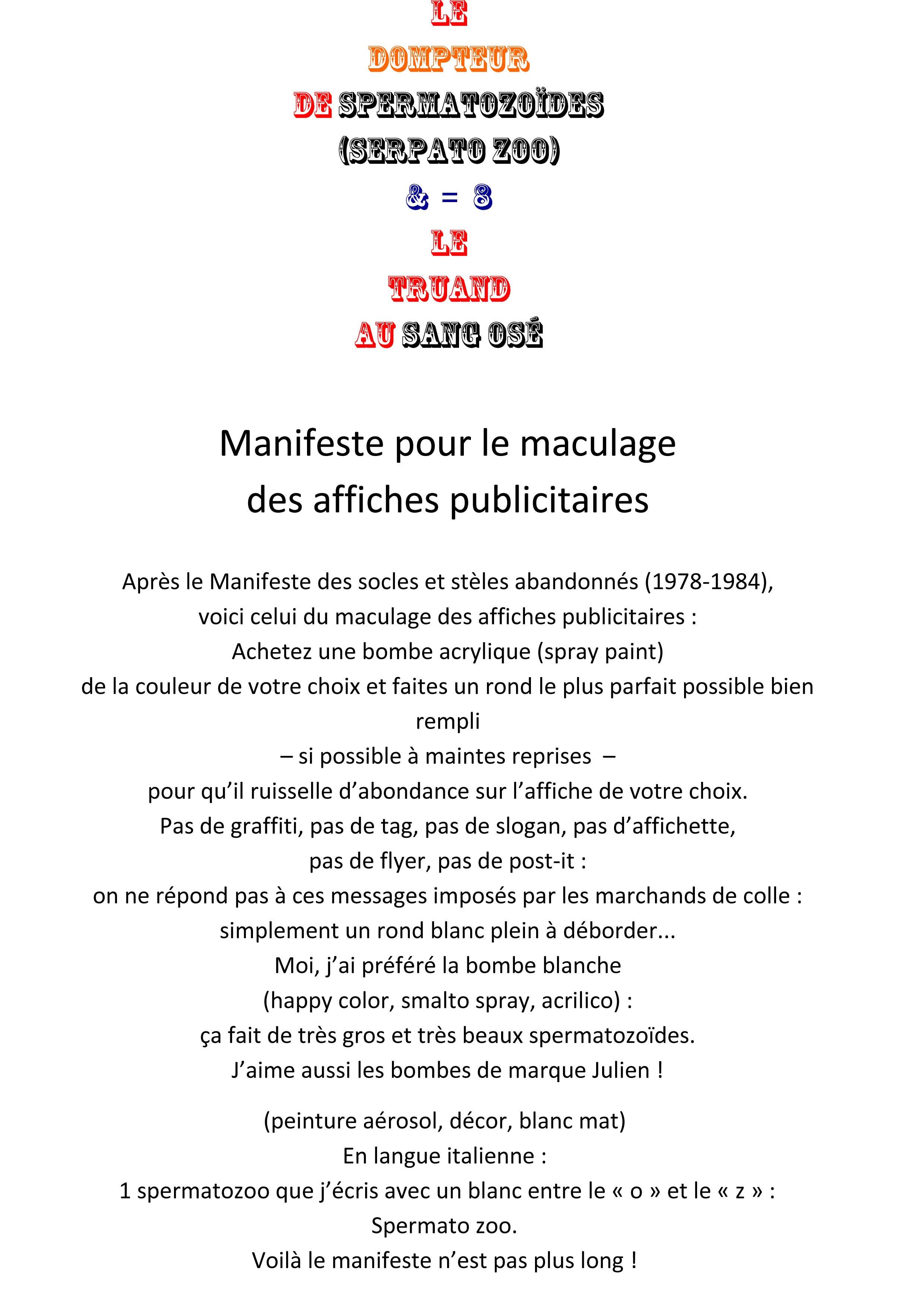 manifeste 1