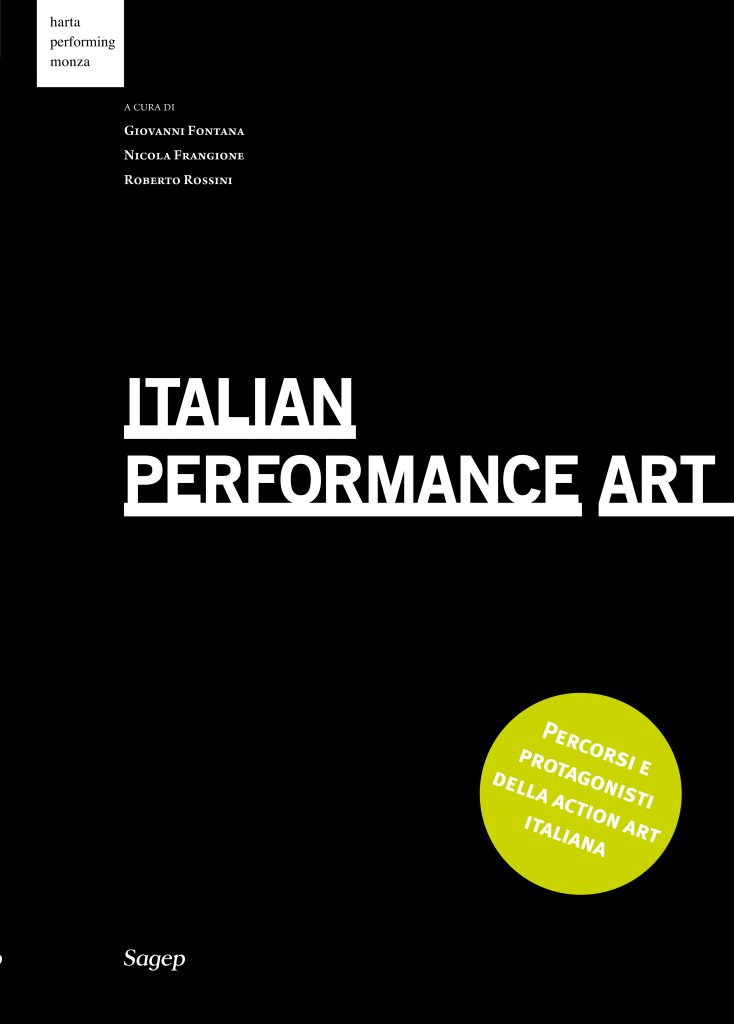 ITALIAN PERFORMANCE ART Cover