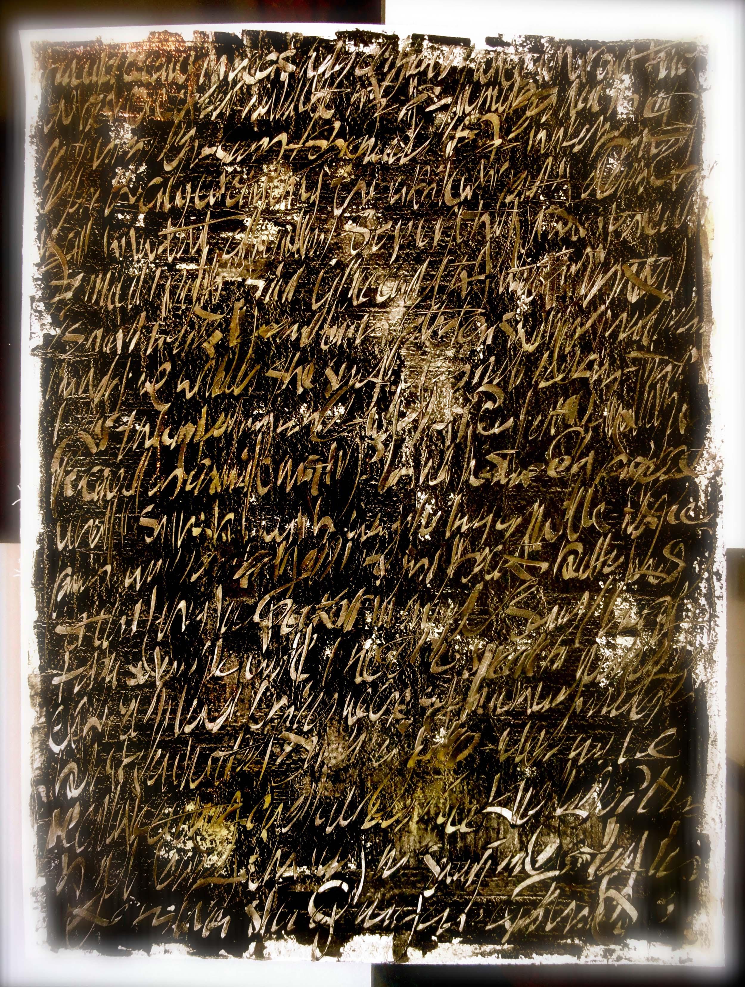 Asemic Writing. Cheryl Penn.