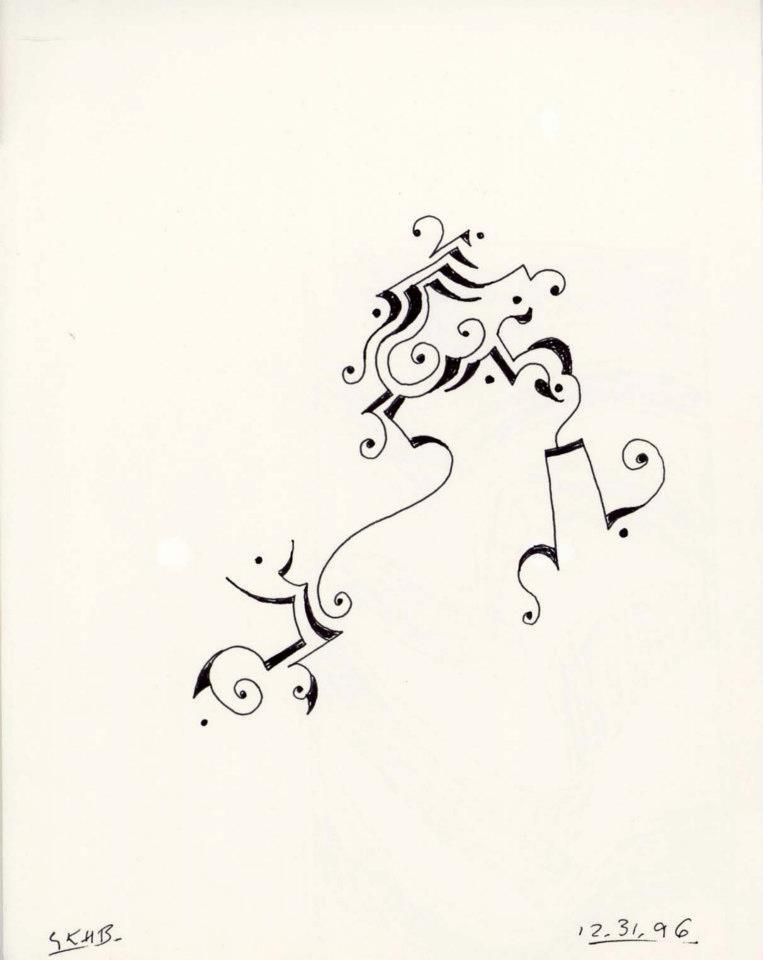 1996_Fancy Dancing Line 01 1996