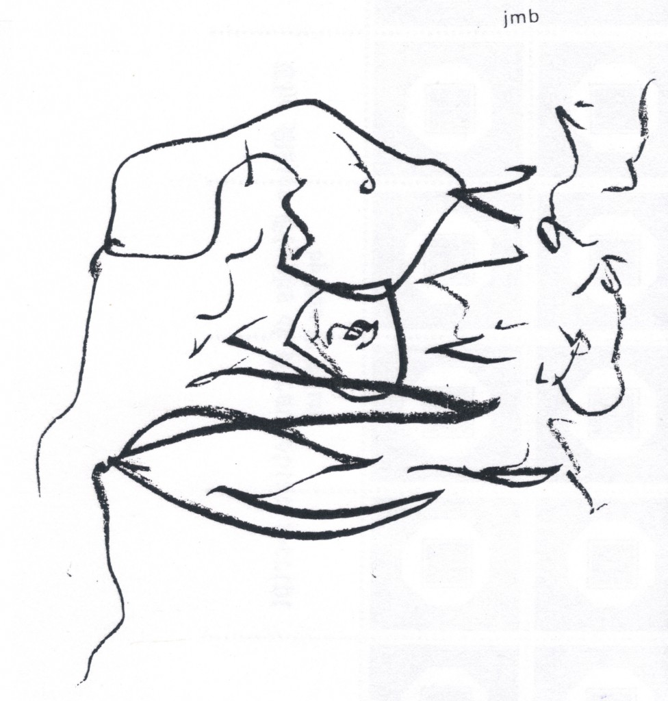 john bennett from asemic art poeticks