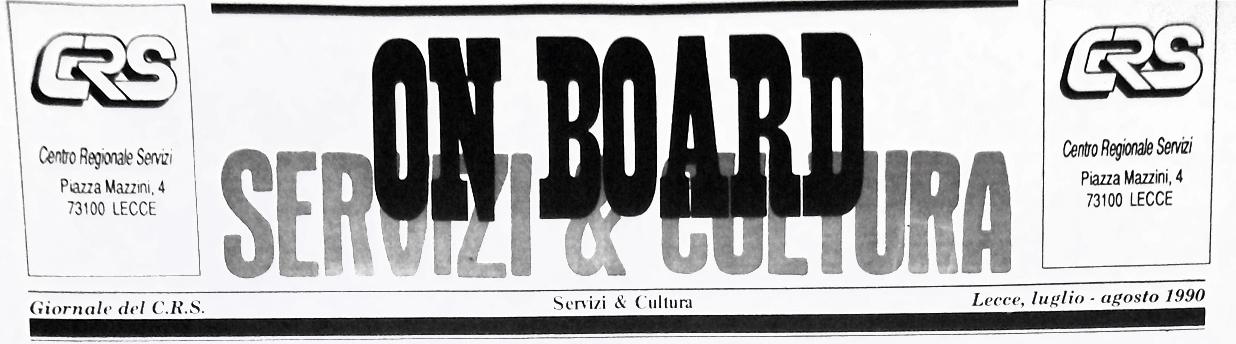 onboard luglio agosto 1990