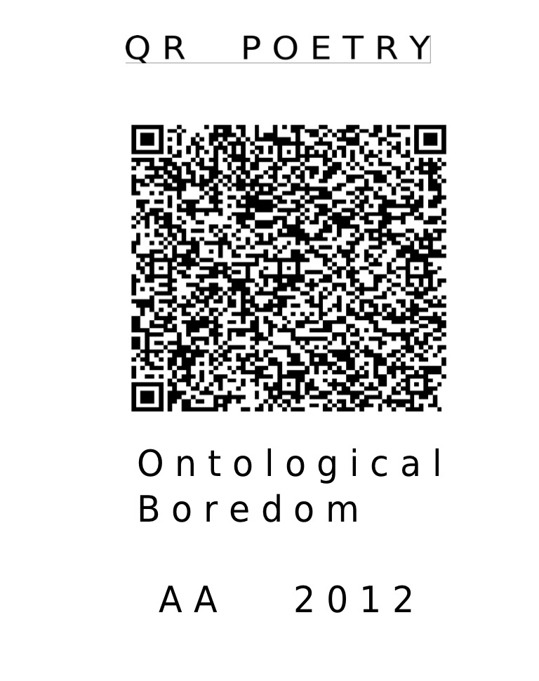 Agam Andreas QR poetry 2
