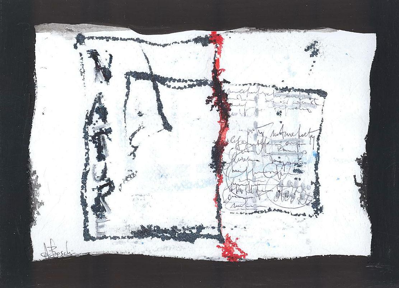 Carte assorbenti-4 - 2010 cm24x34 acrilico e china