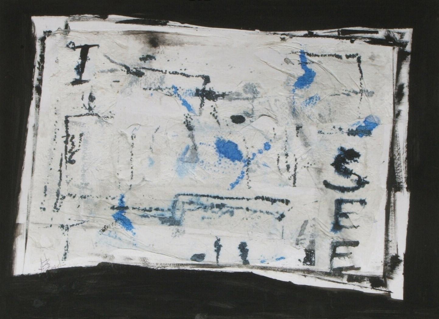 Carte assorbenti-8 I SEE, 2010 - cm 24x34