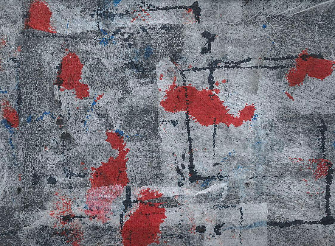 Carte assorbenti-9 - 2010 cm 24x34 acrilico e china