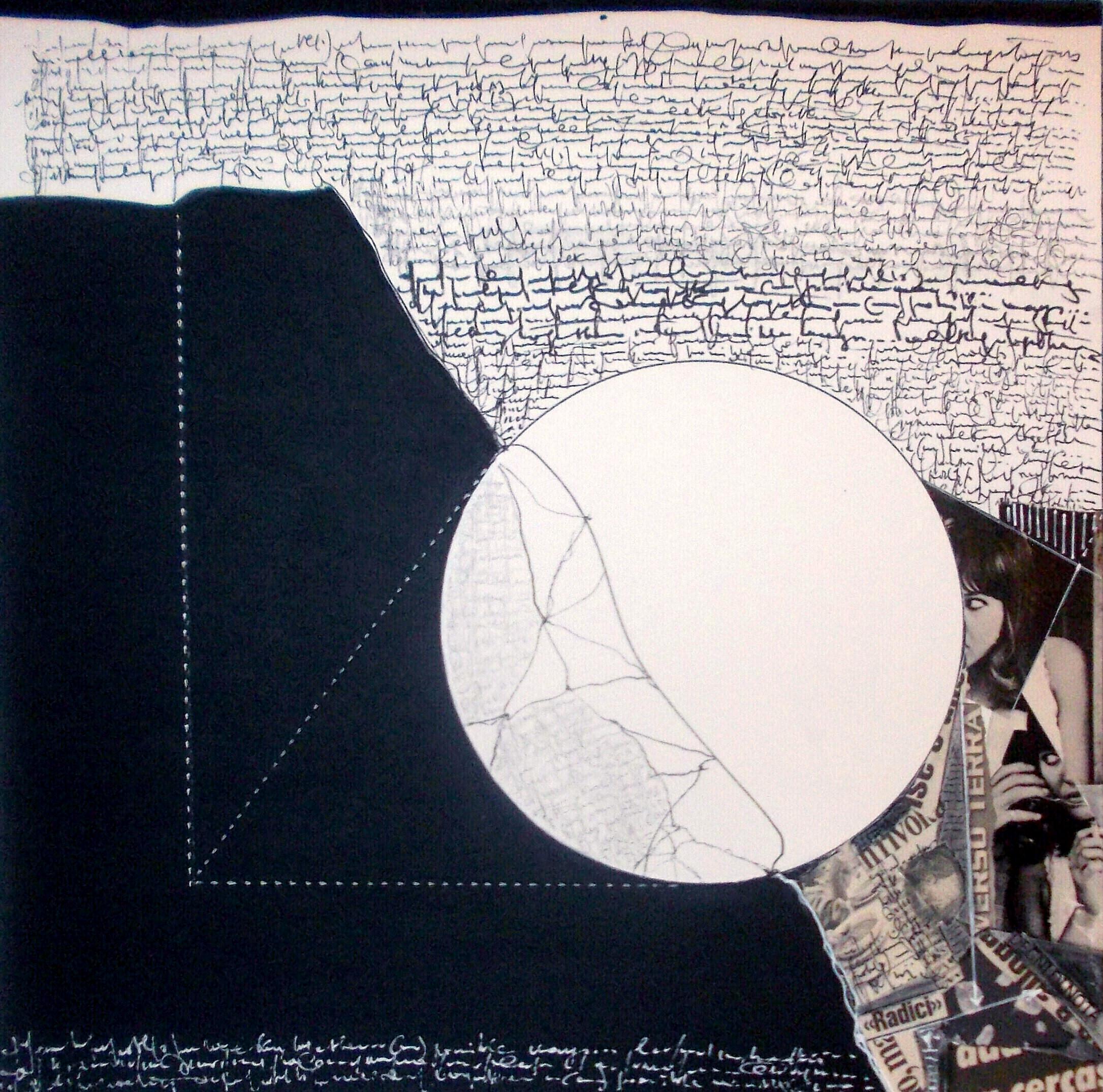 Lettera in ombra 1, 2014 - cm 50x50