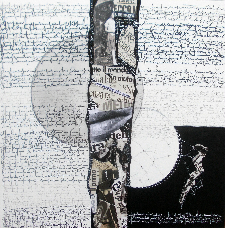 Lettera in ombra 2, 2014 - cm 50x50